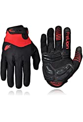 FIRELION Outdoor Touch Screen Cycling Gloves Mountain Bike Bicycle Gel Gloves MTB DH Gloves
