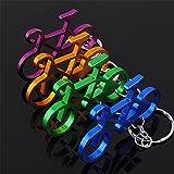 Sunfish-Paar-Metall-Keyring-Vier-Farben-Fahrrad-Schlsselanhnger-4pc