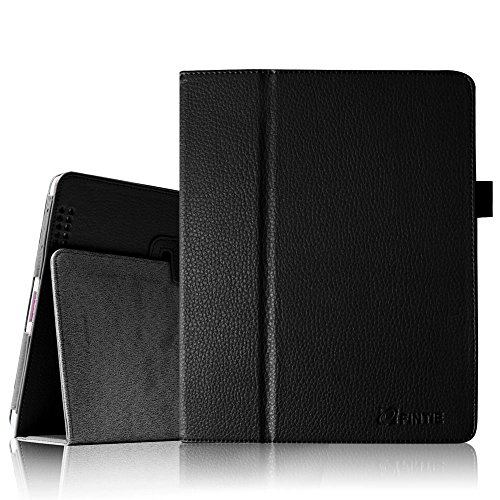 Fintie Folio Classic Leather Case Cover for iPad 4th Generation, New iPad 3 & iPad 2