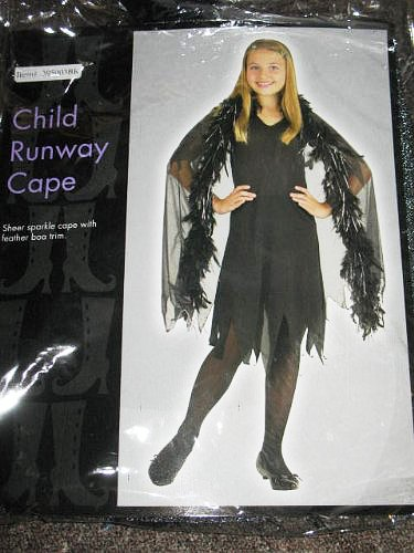 Child Runway Cape