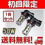 【2個セット】 LED フォグランプ ランクル プラド 150系 TX FOG ホワイト 白 フォグライト フォグ灯 フォグ球 後期