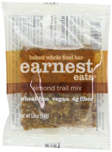 Earnest Eats Baked Whole Food Bar, Almond Trail Mix, 1.9-Ounce Bars (Pack of 12) by Earnest Eats