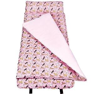 Wildkin Horses in Pink Original Nap Mat