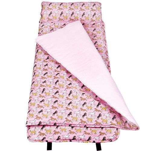 Wildkin Horses in Pink Original Nap Mat