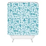 DENY Designs Jennifer Denty Sea Creatures Shower Curtain, 69 by 72-Inch