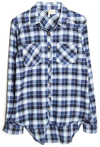 womens-roll-up-sleeve-plaid-check-flannel-shirt-medium-blue-white-1925