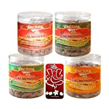 Chocholik Dry Fruits - Almonds Italian Herbs, Mexican Salsa, Smoked Barbeque & Smoked Jalapeni With 3d Mobile...