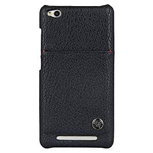 Parallel Universe Elegant PU Leather Back cover with Pouch for Xiaomi Redmi 3 - Black