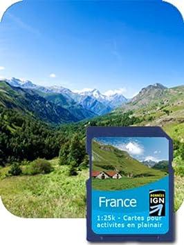 Satmap Carte GPS de la Corse
