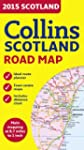 2015 Collins Map of Scotland (Road Map)