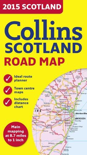 2015 Collins Scotland Road Map