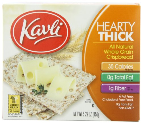 Kavli Crispbreads CRISPBREAD,THICK 150 gm (Pack of 12)
