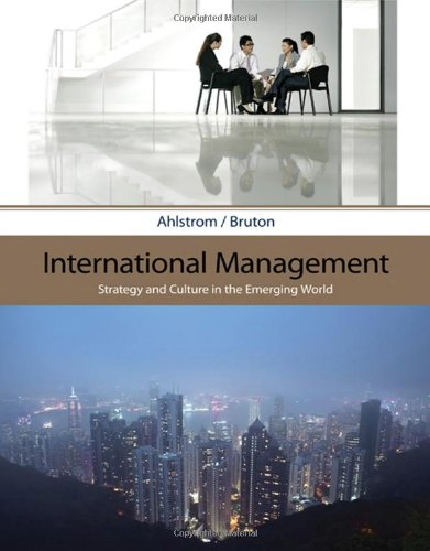 International Management: Strategy and Culture in the...