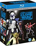 Star Wars: The Clone Wars - The Complete Seasons 1-4 [Blu-ray] [Region Free]