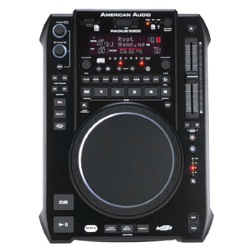 RADIUS 3000 DJ CD-Player MP3-Player Katenleser USB