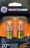 GE NIGHTHAWK 1156 Replacement Bulbs, (2 Pack)