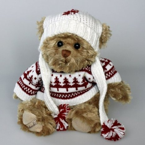 Teddy *Lorenzo* Plüschtier mit Pullover *Bukowski*