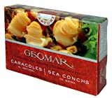 Geomar Gourmet Seafood, Caracol Sea Conch, 3.2-Ounce Boxes (Pack of 5)