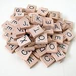 Wooden Scrabble Tiles - Complete set...