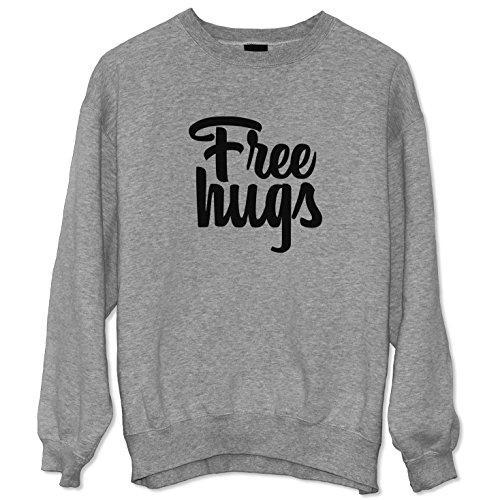Free Hugs Funny Slogan Felpa Sweatshirt Sweater Unisex / Spedizione Veloce / S M L XL XXL dimensioni