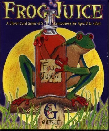 Frog Juice with FREE Deck of Playing Cards by Gamewright (Frog Juice Game compare prices)