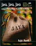 img - for Java, Java, Java: Object-oriented Problem Solving by Ralph Morelli (1999-12-27) book / textbook / text book