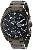 Seiko Men's SNN233 Chronograph Black Dial Watch by Seiko
