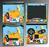 Adventure Time Finn Jake Dog Stretch Cartoon Video Game Vinyl Decal Cover Skin Protector for Nintendo GBA SP Gameboy Advance Game Boy