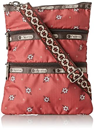 LeSportsac Kasey Cross Body Bag,Howdy,One Size