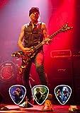 Michael Schenker's Temple of Rock (DW) Live Performance Unframed Guitar Pick Display
