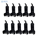 Walkie Talkie Belt Clip Compatible with Two Way Radio WLN KD-C1/Radtel RT-10/LT-316/TD-M8 /RT22 /X6/ ZS-B1/ NK-U1 / R1 (10 Pack)