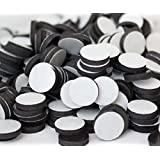 """Flexible Magnets 1/2"""" Round Disc with Adhesive Backing - 100 Pcs"""