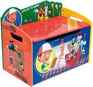 Baul guarda juguetes manny manitas mueble infantil madera for Mueble guarda juguetes