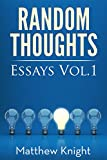 img - for Random Thoughts: Essays Vol. 1 book / textbook / text book