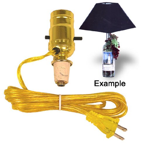 Easy Lamp Kit Turns A Wine Bottle Into An Instant Lamp front-595413