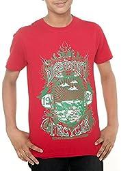 Menthol Boys Organic Cotton Tshirt (11-12 Years)