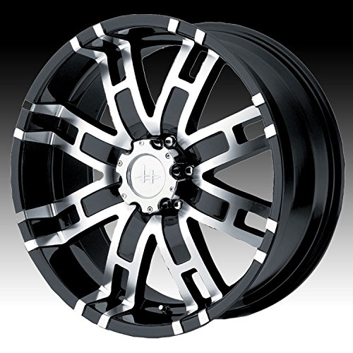 Helo-HE835-Gloss-Black-Wheel-With-Machined-Face-20x96x1397mm-18mm-offset