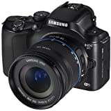 Samsung NX20 20.3 MP SLR with 3.0-Inch LCD Camera (Black)