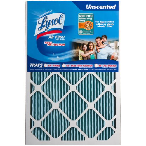 Lysol Triple Protection Furnace/AC Air Filter, 16