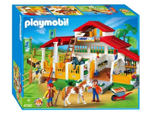 Jouet : Playmobil - 4190 - Centre Equitation Moderne