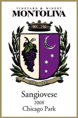 2008 Montoliva Vineyard, Chicago Park, Sierra Foothills Sangiovese 750 Ml