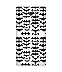 Bat Style Sony Xperia M2 Case
