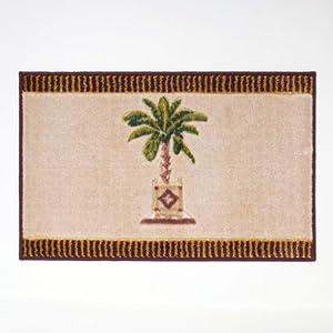 Avanti Linens Banana Palm Rug, Linen