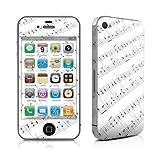 【即納】Apple iPhone 4用スキンシール【Symphonic】貼り付け簡単補助シール付