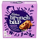 Cadbury Raisin Brunch Bar 6 x 32g