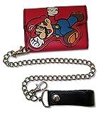 "Bioworld Super Mario ""Mario LCW"" Red Long Chain Wallet"