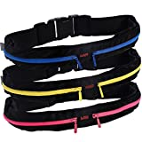 Superior Running Belt with Reinforced YKK zipper (Best in the world) - Two expandable pockets to bring your smartphone, keys, cash, wallet, fitness gear and passport - Water resistant material protects items during workouts, cycling, hiking, leisure and travel activities - Money-back guarantee