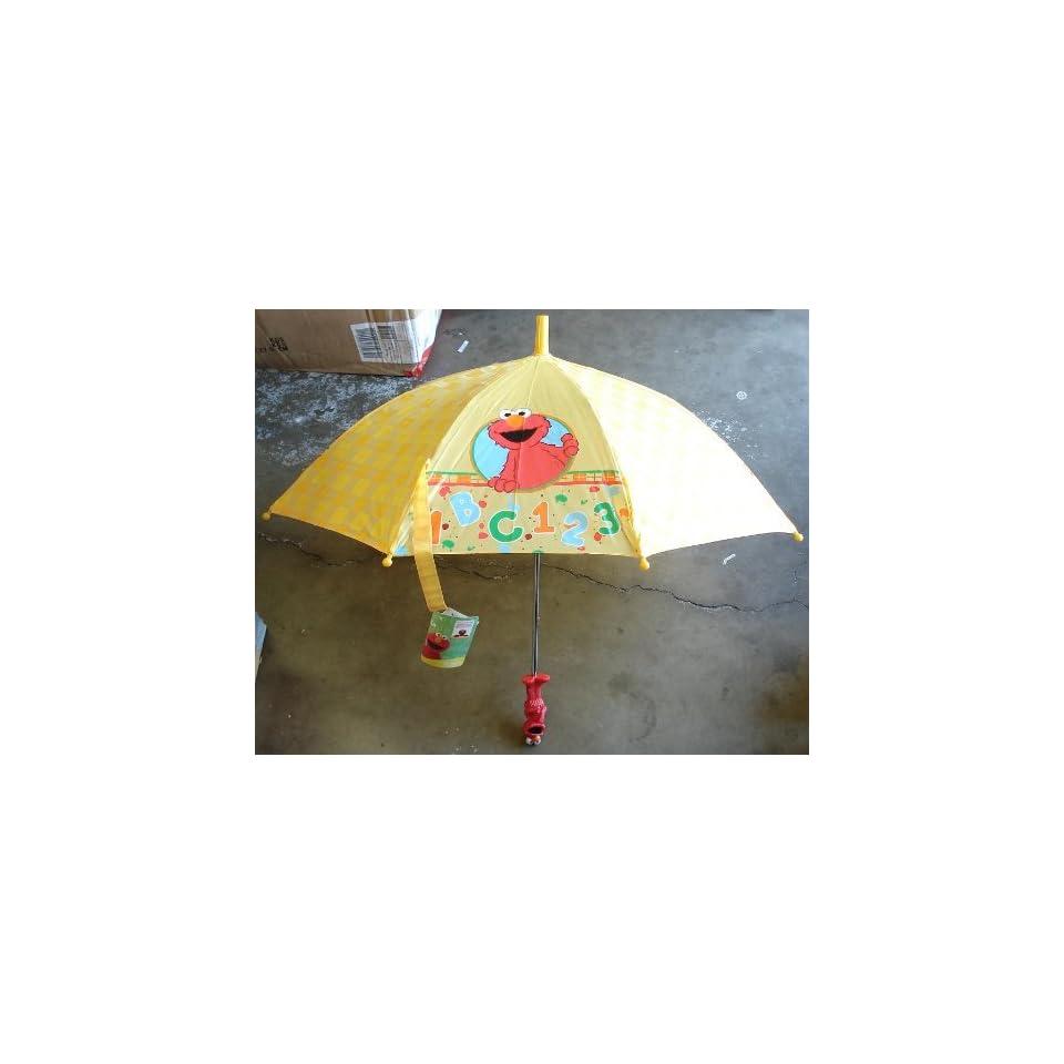 Sesame Street ABC123 Elmo Umbrella