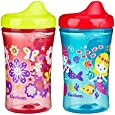 Gerber Graduates Advance Developmental Hard Spout Sippy Cup in Assorted Colors-2 Pack, 10-Ounce
