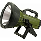 Cyclops C18MIL Thor X Colossus 18 Million Candle Power Rechargable Halogen Spotlight (Color: Black/Green)